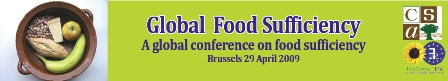 A global conference on food sufficiency - Collectif Stratégies ...